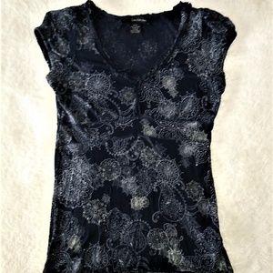 Calvin Klein Jeans Paisley Print Top Size S